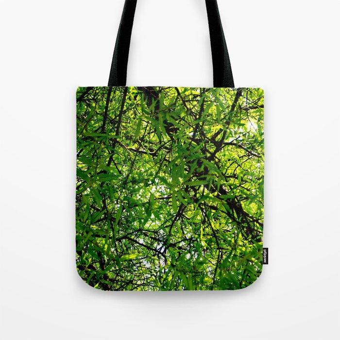 Tangled Green Tote Bag