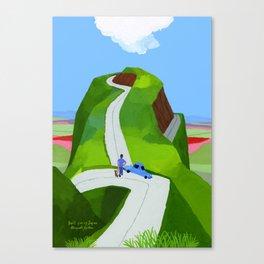 Japanese landscape Kumamoto Canvas Print