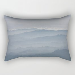 Blue Morning Rectangular Pillow