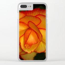 Deep In Love Clear iPhone Case