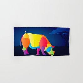 Paper Craft Rhino Hand & Bath Towel