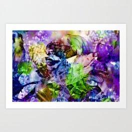 Oriental Dream of Beauty Art Print