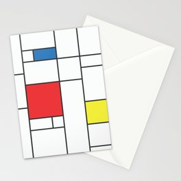 60s Mod Abstract Art Pattern 2 Stationery Cards