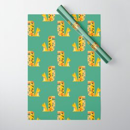 Century Squirrel Wrapping Paper