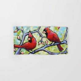 Two Cardinals Hand & Bath Towel