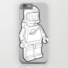 Vintage Lego Spaceman Wireframe Minifig iPhone 6s Slim Case