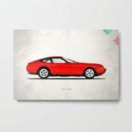 The 365 GTB-4 Metal Print