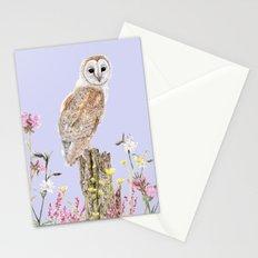 Meadow Barn Owl Stationery Cards