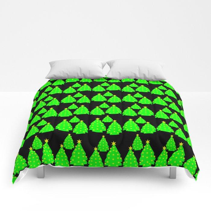 Christmas tree pattern Comforters
