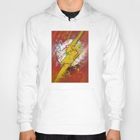 flash Hoodies featuring Flash by Big Tortoise Art (Art by JasonKoelliker)