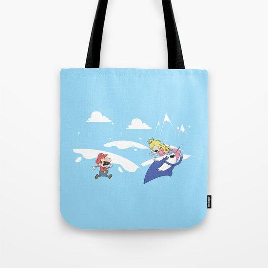 Mario's Adventure Time Tote Bag