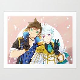 Idol Sorey & Mikleo Art Print