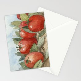 Out In the Garden Stationery Cards