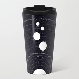 Stellarum Ordo Solaris: A map of our Solar system Travel Mug