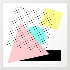 Arty Art Print