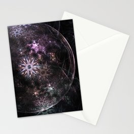 Mobius Fractal Bubble Stationery Cards