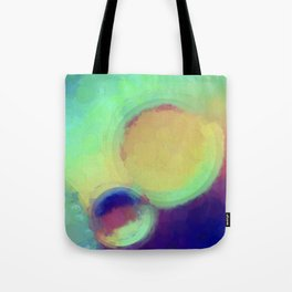 Colorful Abstract Painting Tote Bag