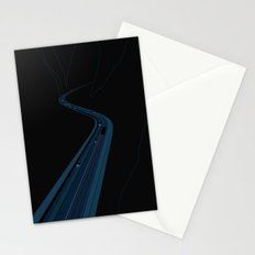 Through the Construct of Night Stationery Cards