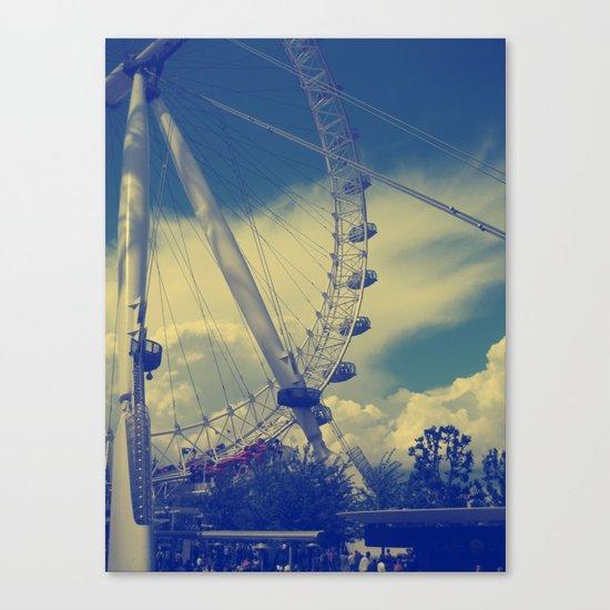 London Eye III Canvas Print