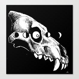 Dire Wolf Canvas Print