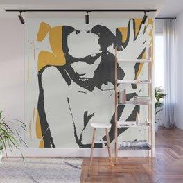 nude woman/ portrait Wall Mural