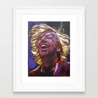phish Framed Art Prints featuring Trey Anastasio by Ray Stephenson