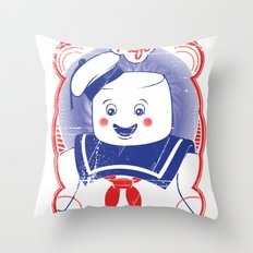 STAY PUFFT Throw Pillow