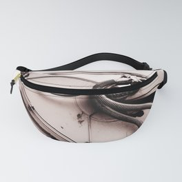 Dig Doug Industry Machine Abstract Fanny Pack