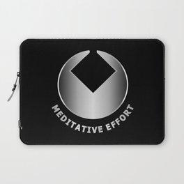 MEDITATIVE EFFORT Laptop Sleeve