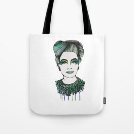 Emerald Mommy Dearest  Tote Bag