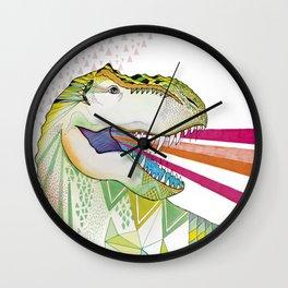 Dinosaur / August Wall Clock