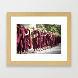 One Meal a Day Framed Art Print