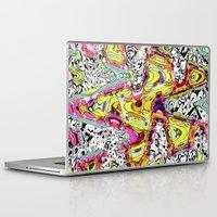 rush Laptop & iPad Skins featuring Rush by Ingrid Padilla