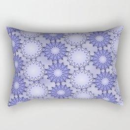 Fifteen Point Stars Rectangular Pillow