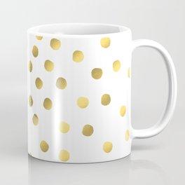 Painted spots of gold Coffee Mug