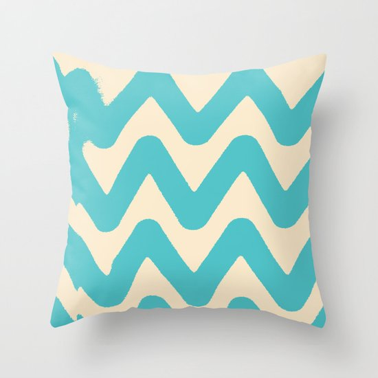 Sunset Breaks Throw Pillow