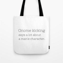 Gnome kicking - GG Collection Tote Bag