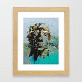 The Human Race 5 Framed Art Print