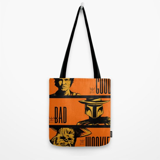 The Good, the bad and the wookiee Tote Bag