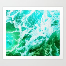 Out there in the Ocean II Art Print