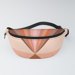 Abstraction_Rainbow_Triangle_Minimalism_001 Fanny Pack