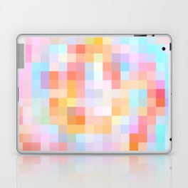 Re-Created Colored Squares No. 24 by Robert S. Lee Laptop & iPad Skin