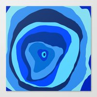 geode Canvas Prints featuring Geode by Sarah P