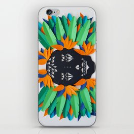 Calavera 3 iPhone Skin