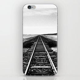 The straight path iPhone Skin