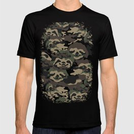 Sloth Camouflage T-shirt