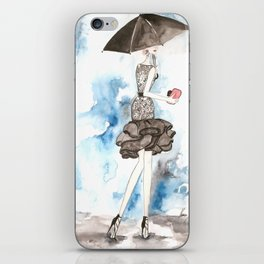 Rainy iPhone Skin