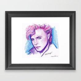 Darling David Framed Art Print