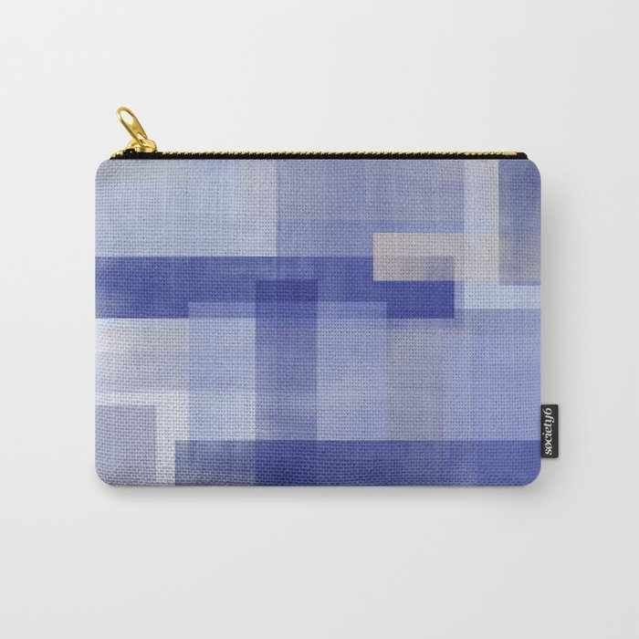 Untitled No. 5 | Violet + Lavender Carry-All Pouch