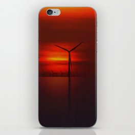 Windmills in the Sun iPhone Skin